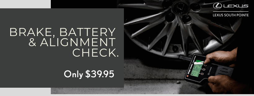Brake , Battery & Alignment Check
